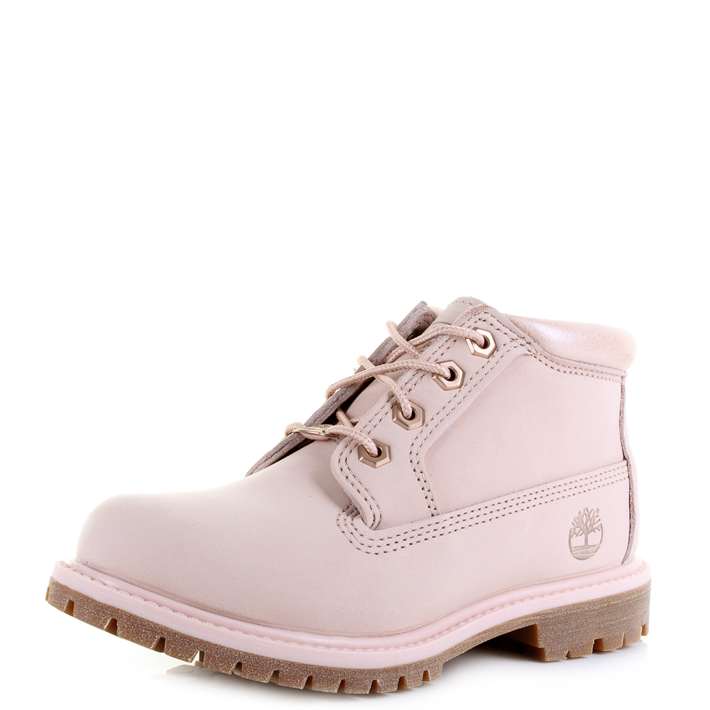 Womens Timberland Nellie Chukka Double Cameo Rose Pink ...