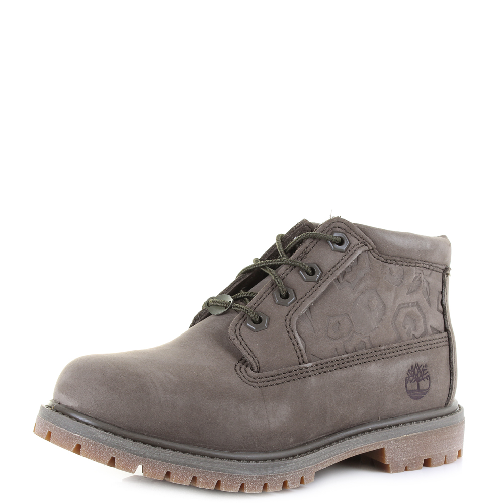 Womens Timberland Nellie Chukka Double Canteen Low Top Ankle Boots Sz Size  Ebay-9097