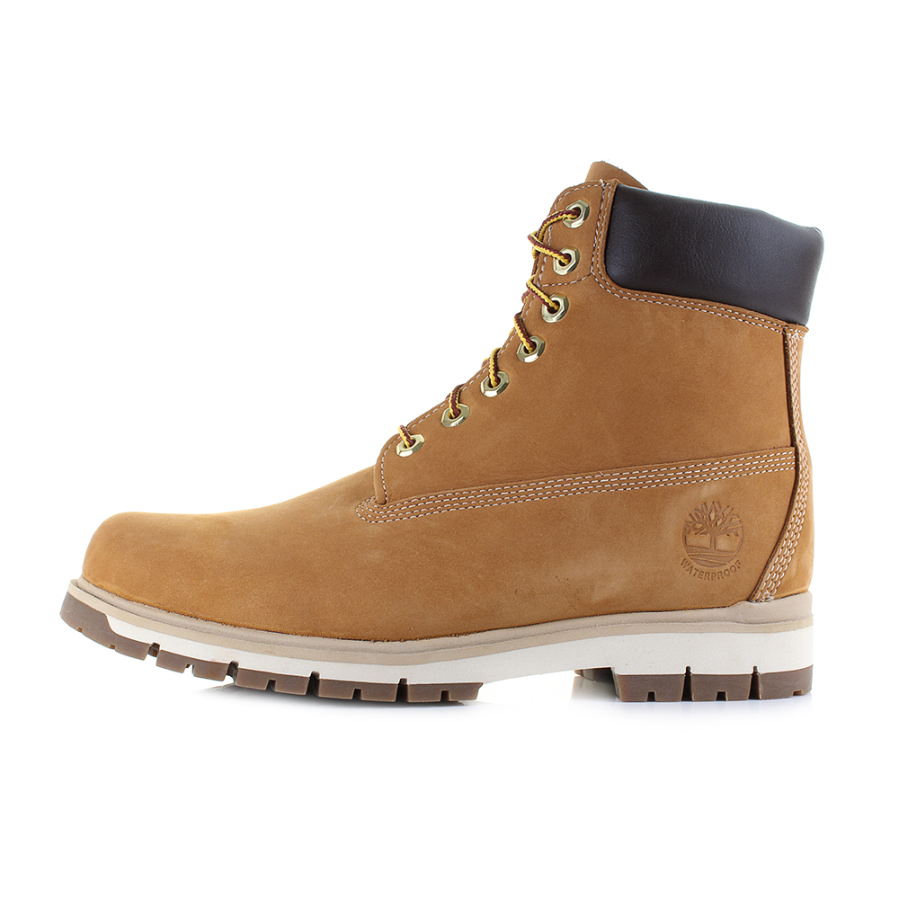 Details about Mens Timberland Radford 6 Inch Waterproof Wheat Leather Ankle Boots Size