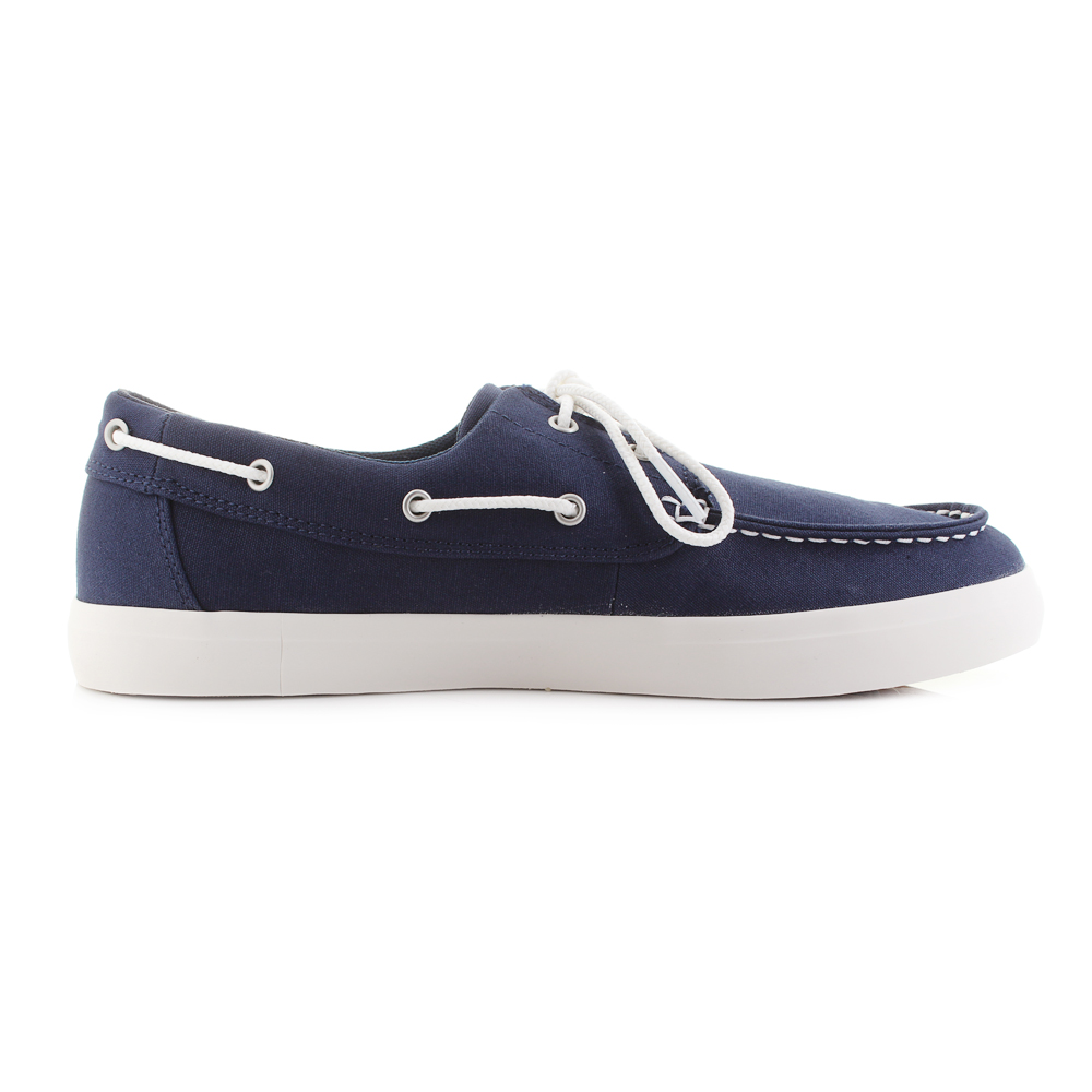 80df6e8a866 Mens Timberland Union Wharf 2 Eye Navy Blue Boat Shoes UK Size | eBay