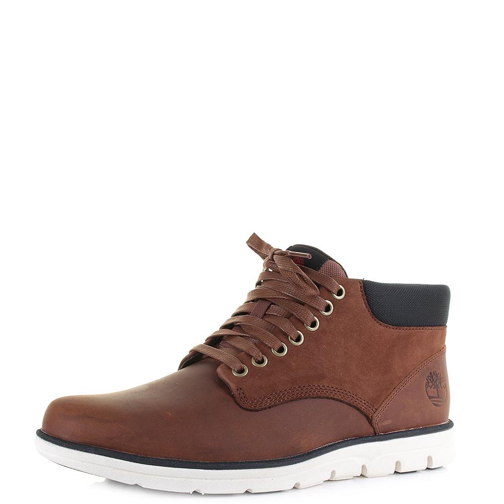 Mens Timberland Chukka Leather Brown Lightweight Comfort Ankle Boots Sz Size b4b5384d74e