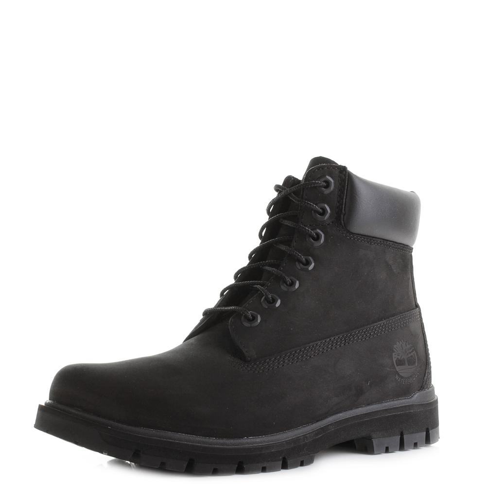 2335c48371b13 Mens Timberland Radford 6 inch Lightweight Black Ankle Boots Shu Size