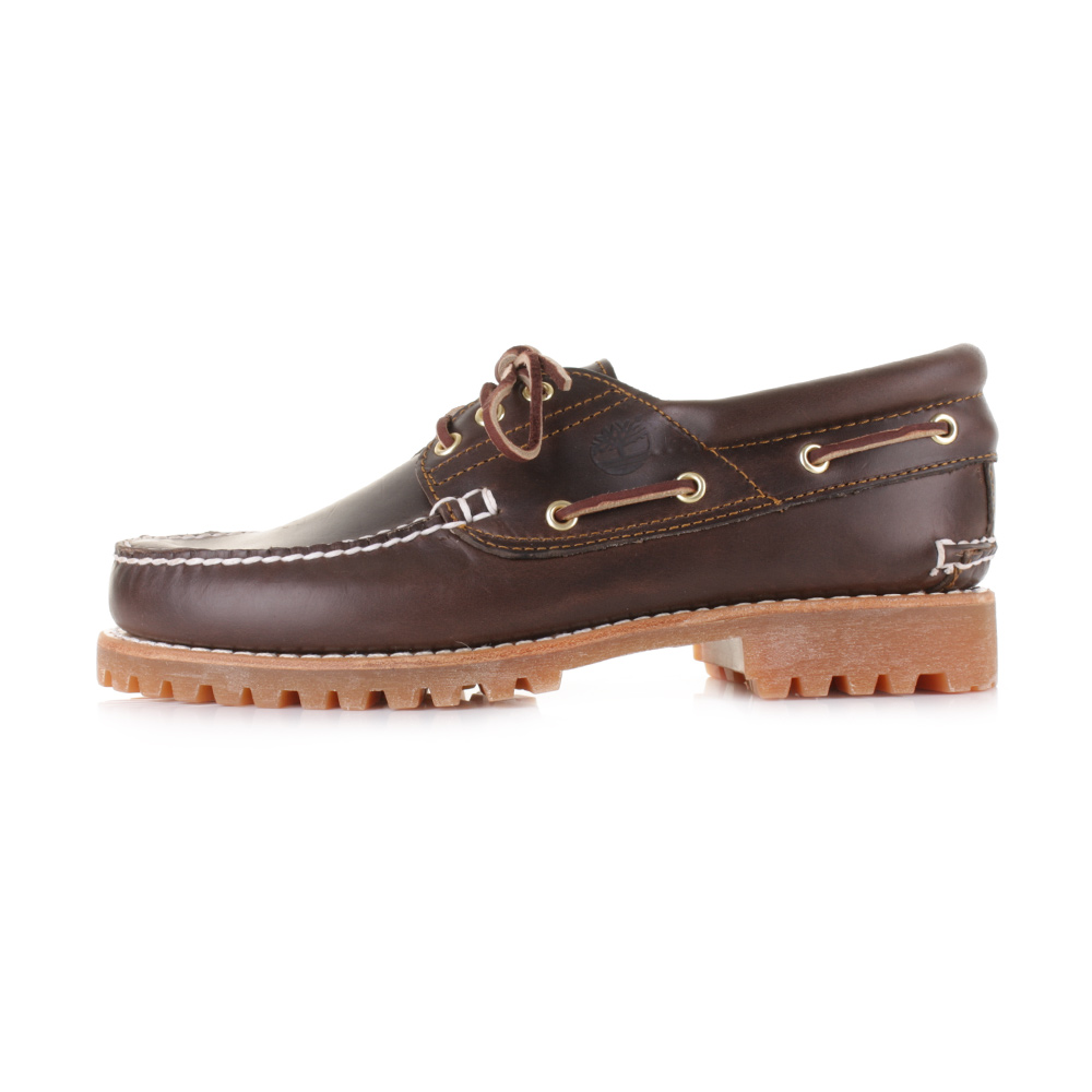 A classic boat shoe style from Timberland. Made from premium leather  uppers d34f42ae613
