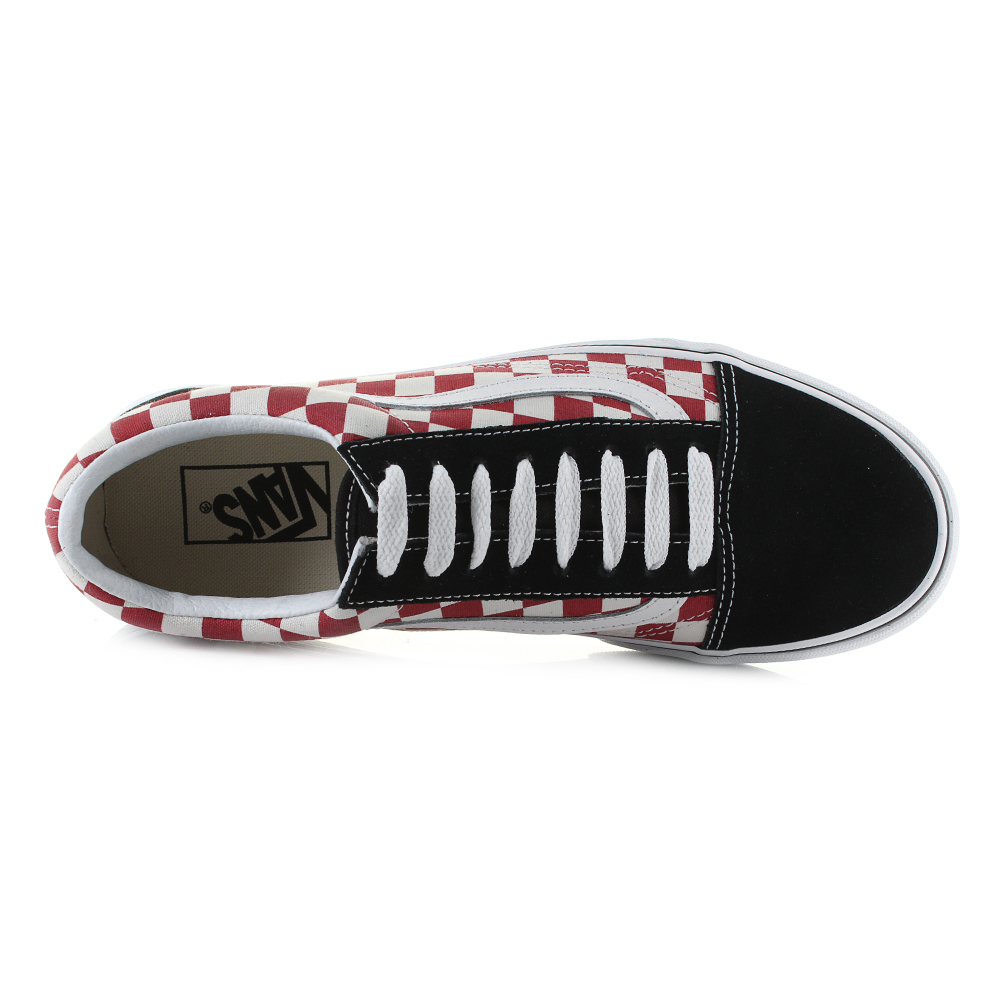 vans old skool checkerboard ebay