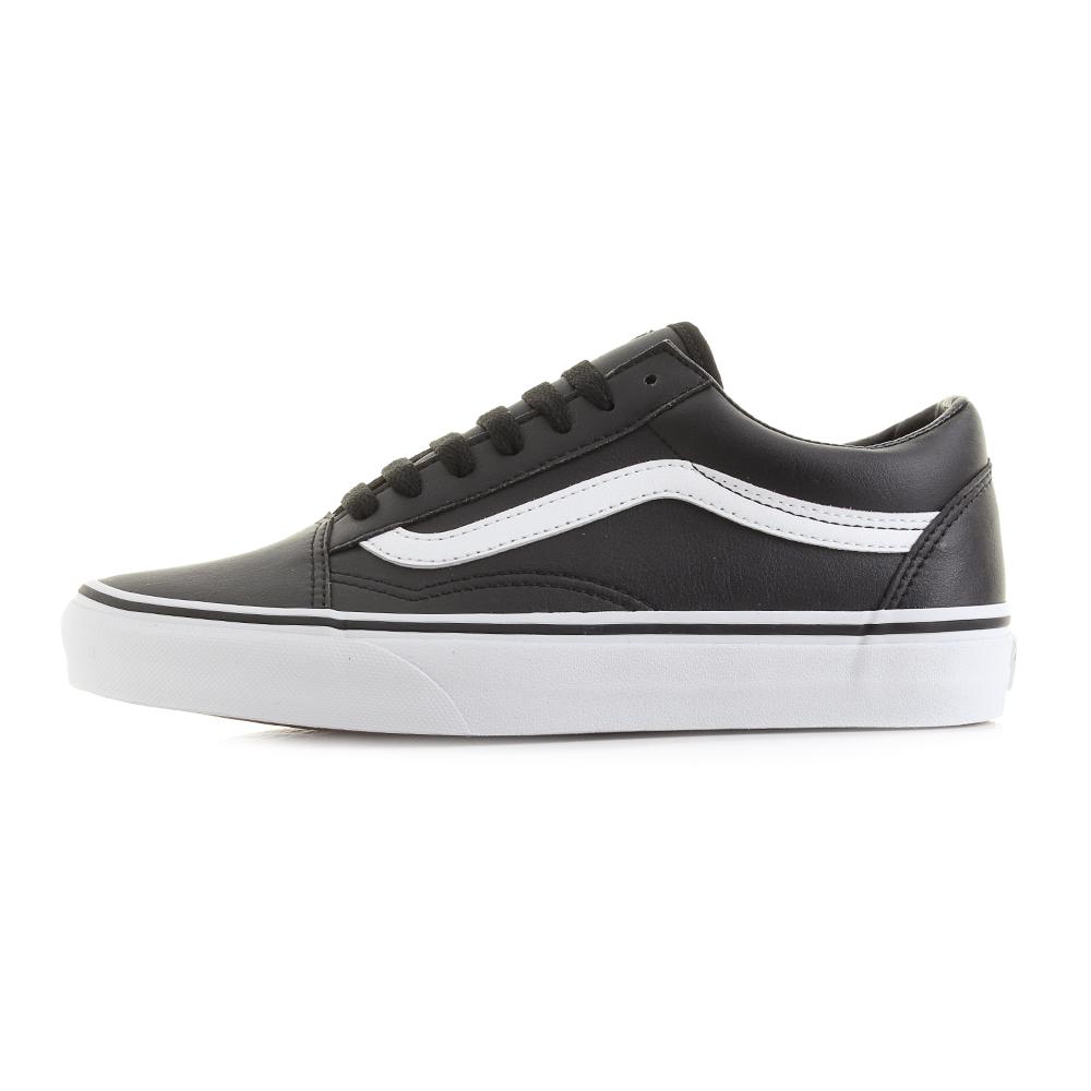 57095d81ed5 Vans Old Skool Classic Tumble Black True White Skate Trainers Shoes Sz Size