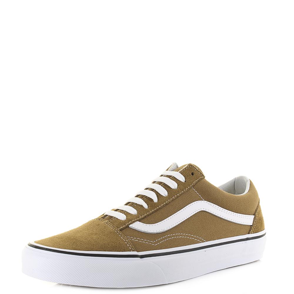 33cf3900e6 Unisex Vans Old Skool Cumin True White Classic Skate Trainers Shu Size