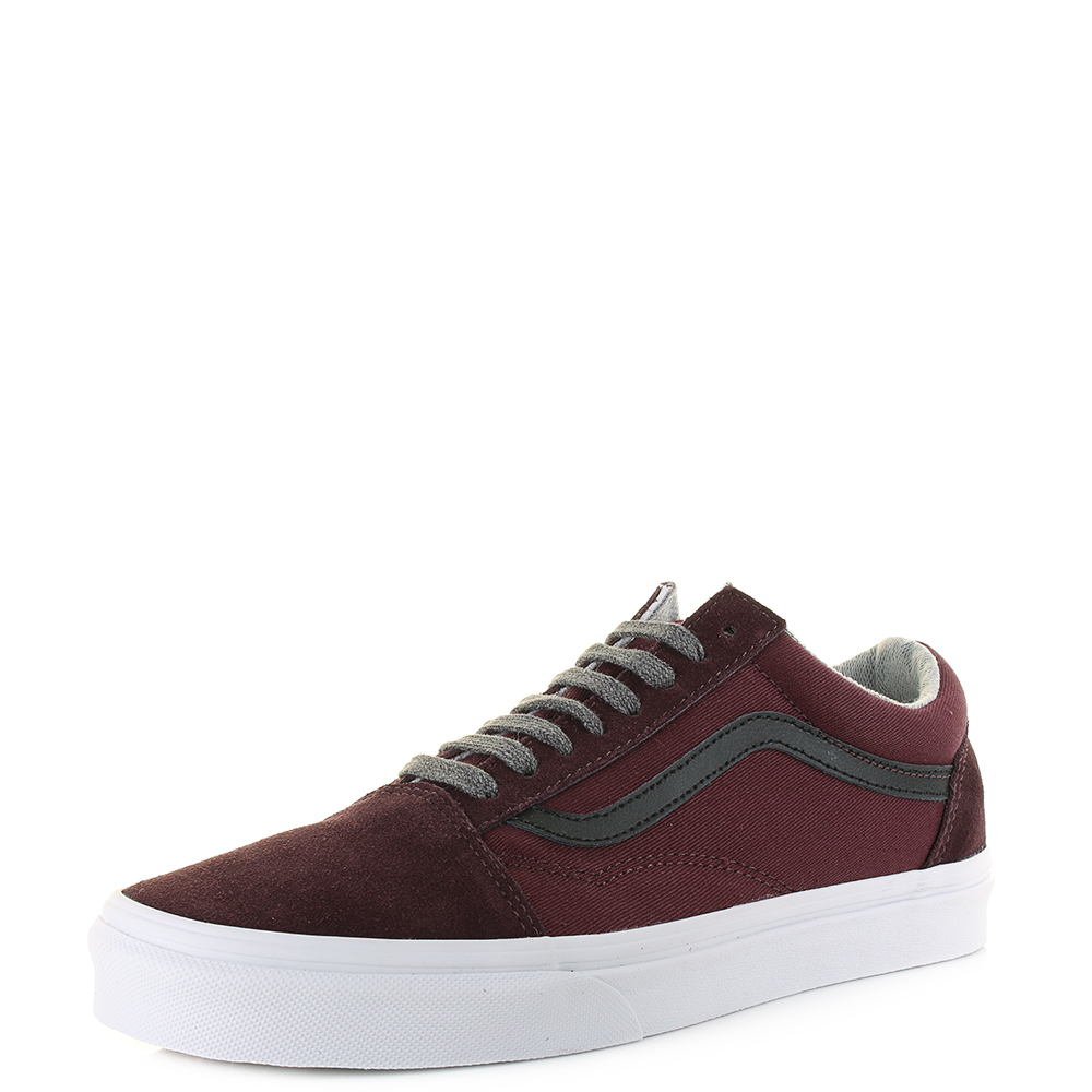 afa975c246e2 Details about Unisex Vans Old Skool Jersey Lace Port Royal Red Classic  Fashion Trainer Shu Siz