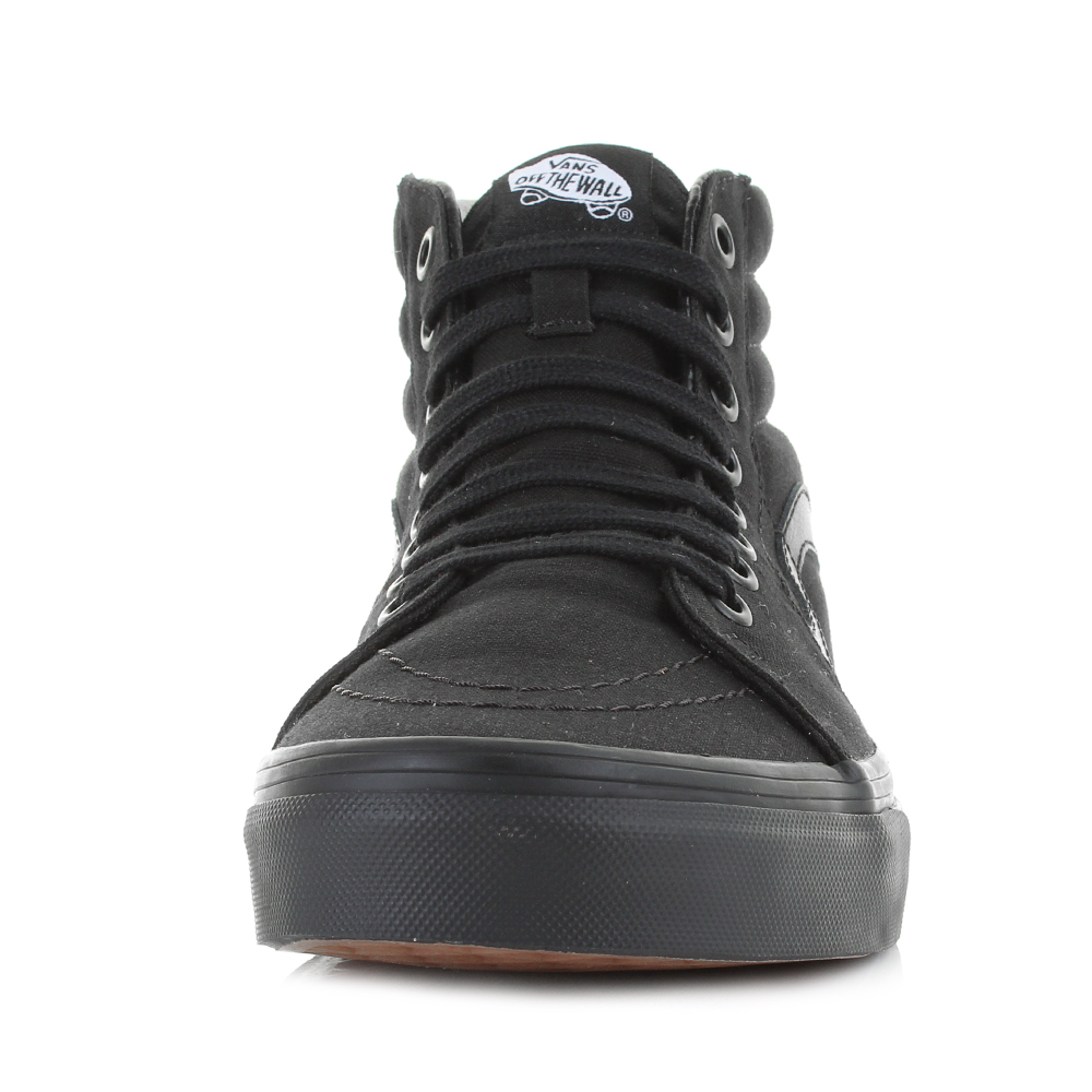 ff85eb39d335 all black van high tops   Come and stroll!