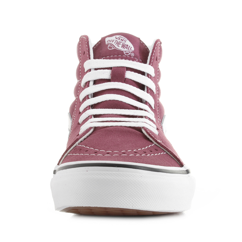 bf8037e34f4 Womens Vans Sk8- Hi Dry Rose True White Classic Fashion Trainers Shu Size