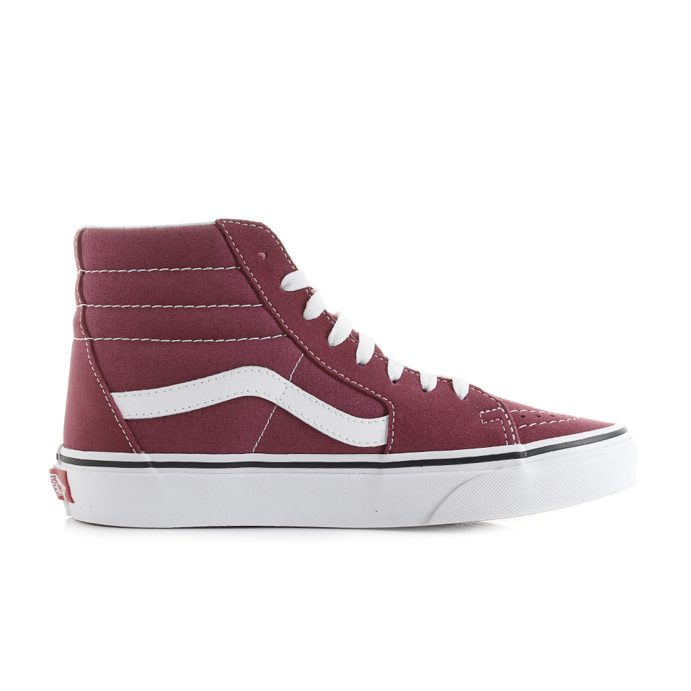 e942369731a Womens Vans Sk8- Hi Dry Rose True White Classic Fashion Trainers Sz Size