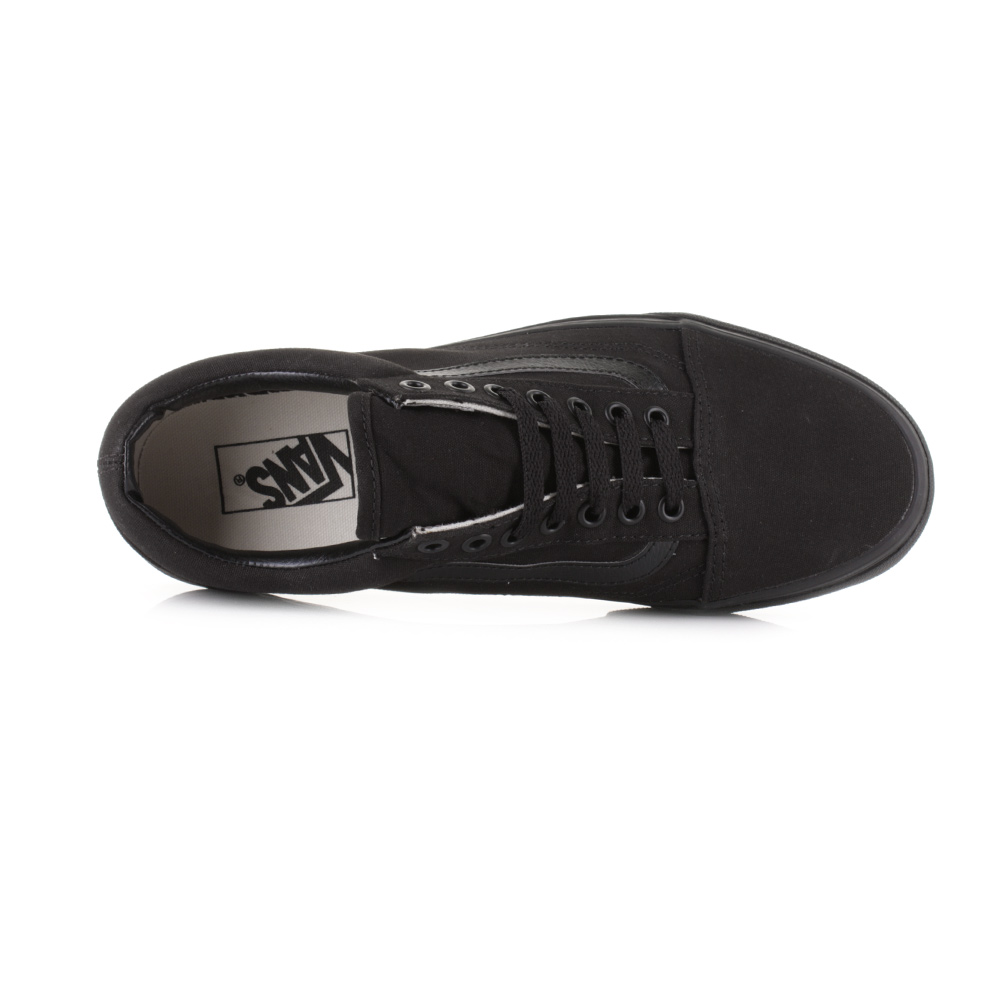 vans old skool trainers in black vd3hbka