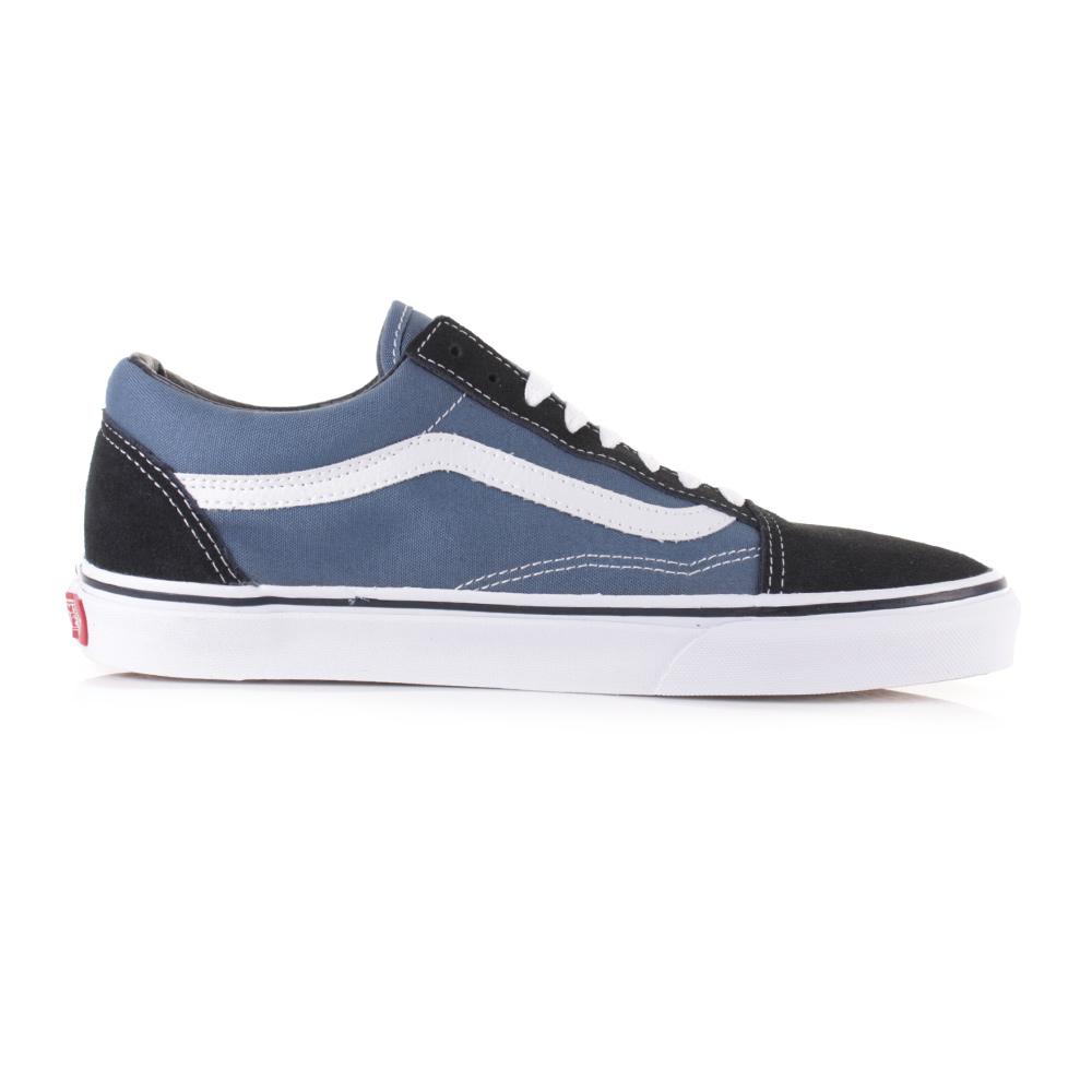 Mens Vans Old Skool Navy Skate Fashion Classic Retro Trainers Shoes Sz Size 0d7b80a4e