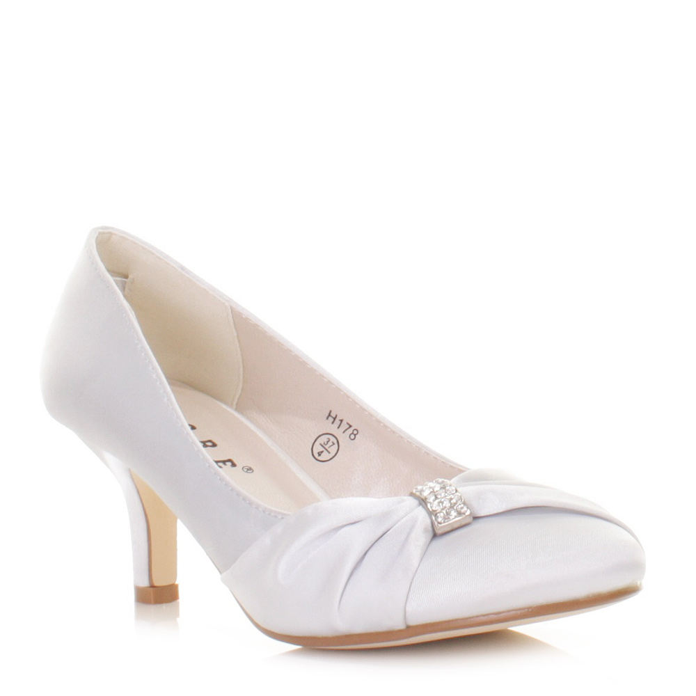 Bridal Shoes Kitten Heel Uk