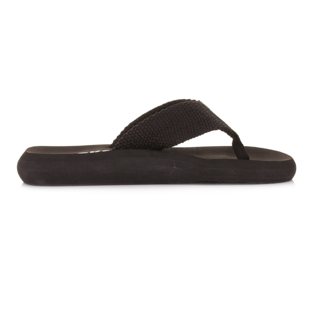98b508a7db6c93 W0Mens Rocket Dog Sunset Black Web Strap Ladies Flip Flops Sandals Size 3-8
