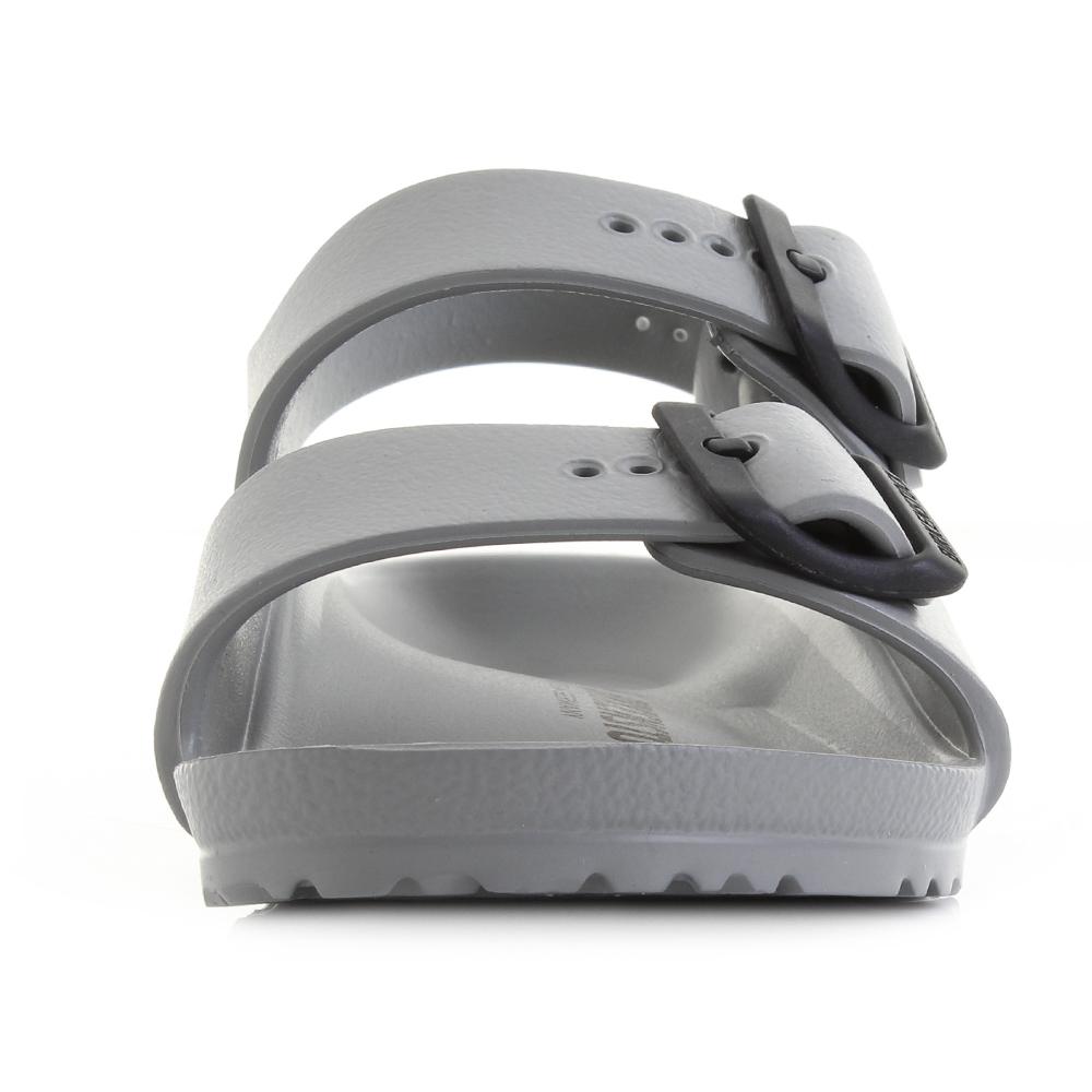 Details zu Boys Kids Birkenstock Milano EVA Seal Grey Narrow Fit Activity Sandal Sz Size