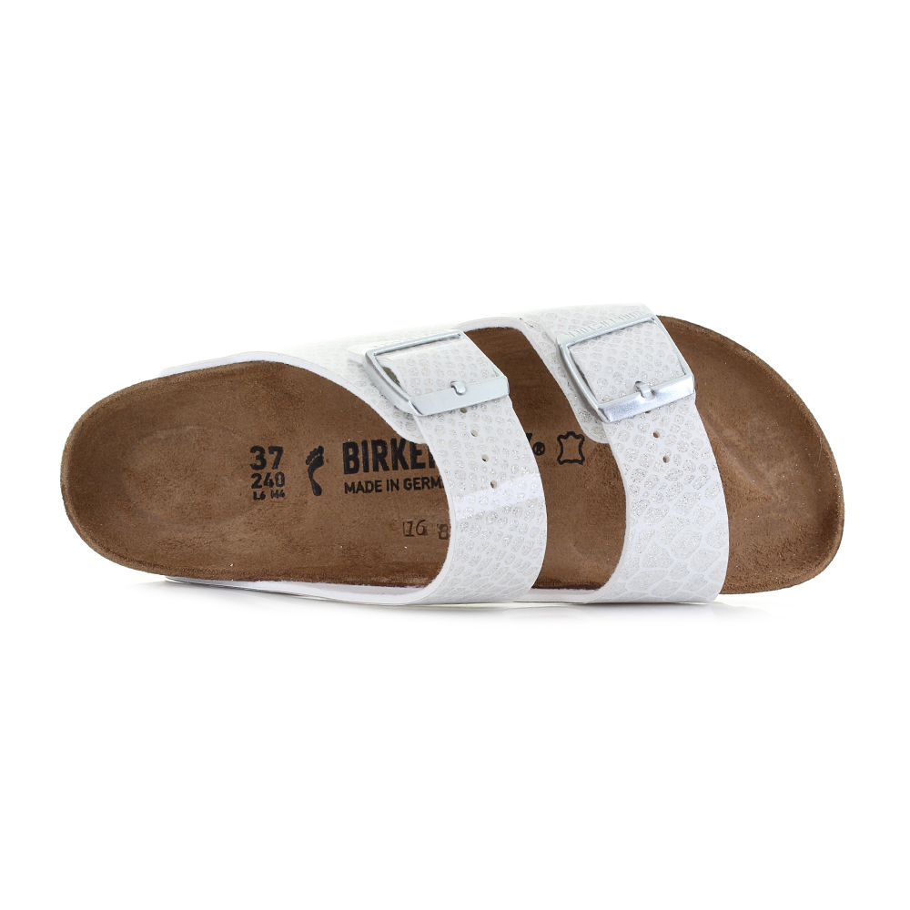 33b192c4aef4 ... two-strap classic from BIRKENSTOCK - the Arizona is a comfort legend and  a fashion staple. This version features our exciting Magic Snake upper  material ...
