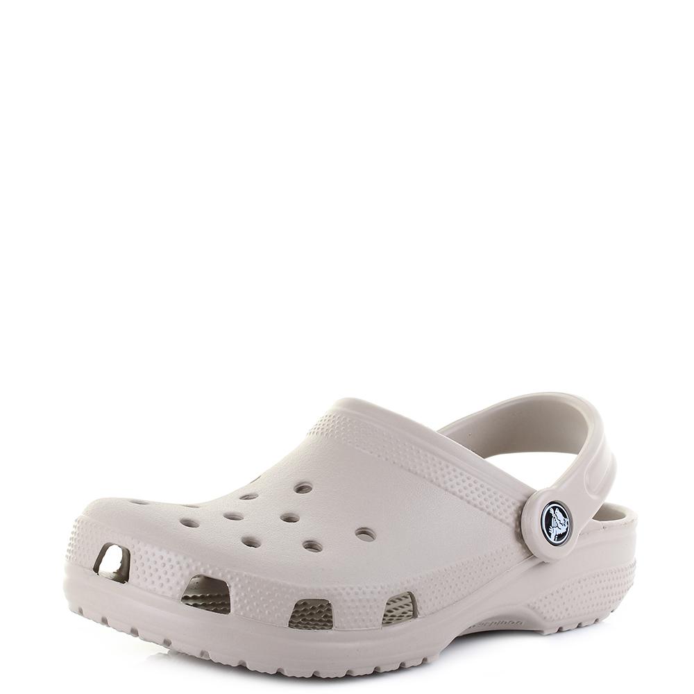 1289dc1bc Details about Crocs Classic Cobblestone Slip Mules Clogs Sandals Shu Size