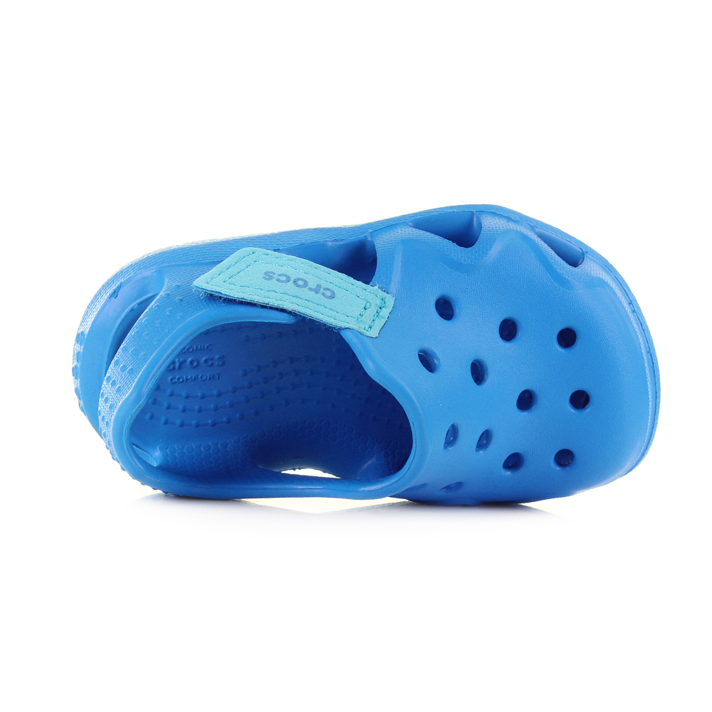 185c7709667853 Crocs Swiftwater Wave sandals are as comfortable on dry land as they are  for backyard water fights and walks on the beach.