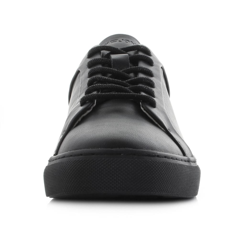 attraktiver Preis Neues Produkt auf Füßen Aufnahmen von Details about Mens Jack and Jones sputnik PU Anthracite Black Casual  Trainers Size