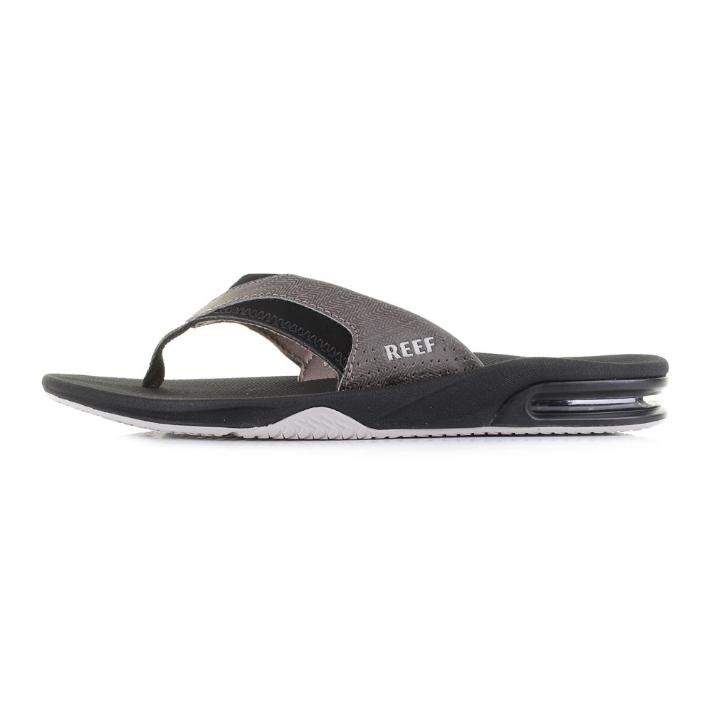 ee4cce47a2d0 Mens Reef Fanning Prints Tan Woven Comfort Sport Sandal Flip Flops ...