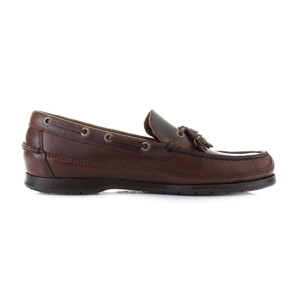 b81a5f73e8f5c Mens Sebago Ketch FGL Oiled Waxy Total Brown Leather Boat Shoes Shu Size