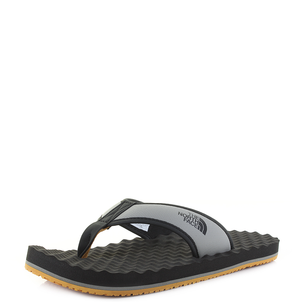 7f3140d48 Details about Mens The North Face Base Camp Flip Flop Phantom Grey Sliver  Sandals Size