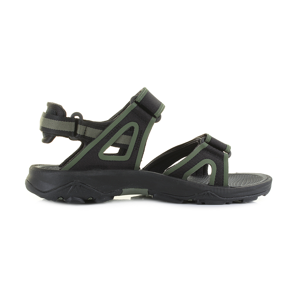d99bf77ad Details about Mens The North Face Hedgehog Sandal II Black FLC Performance  Sandals UK Size
