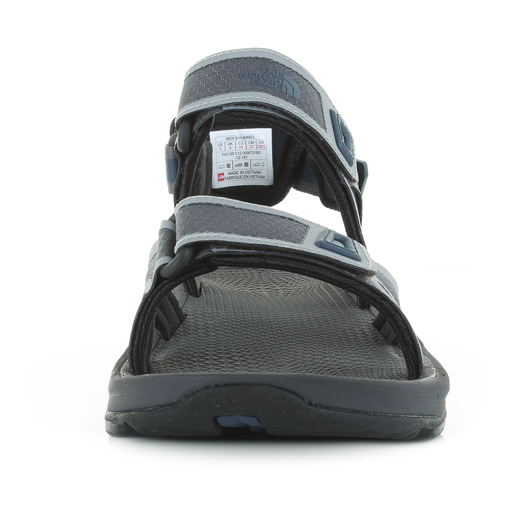 86b0c32e3 Details about Mens The North Face Hedgehog Sandal II Black Pearll Activity  Sandals Size