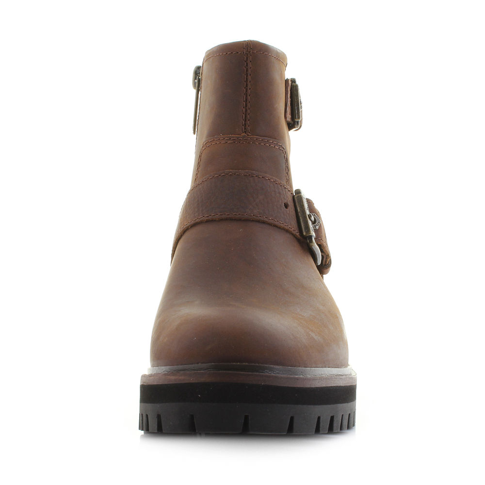 Details about Womens Timberland London Square Chukka Mid Brown Premium Leather Boots Sz Size