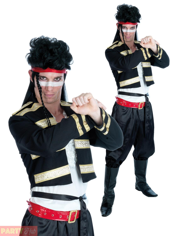 mens 80s adam ant boy george costume adult pop star new romantic
