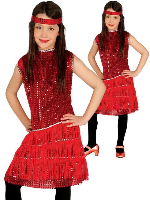 Girl's Charleston Flapper Costume