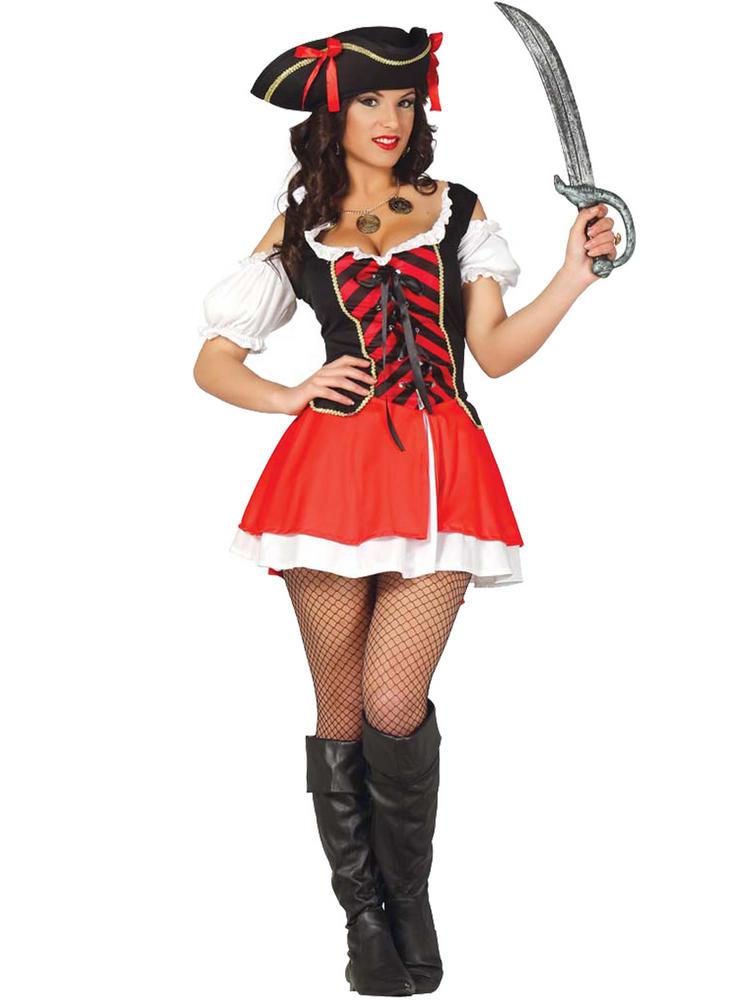 Ladies Corsair Pirate Costume