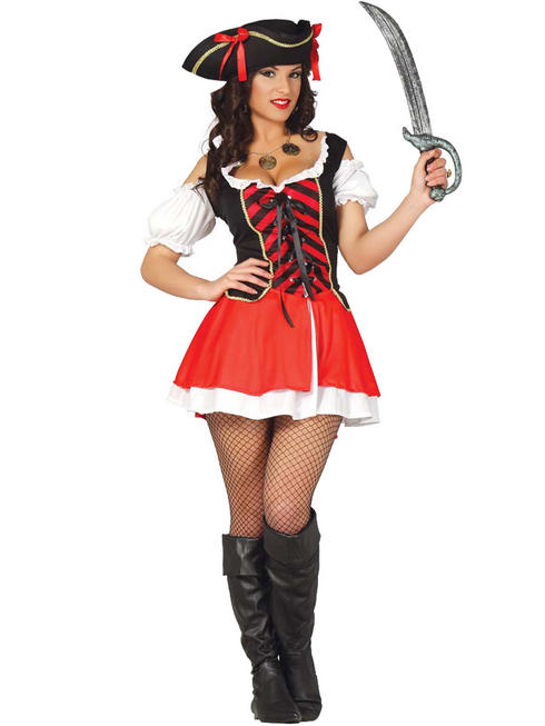 Ladies Corsair Pirate Costume