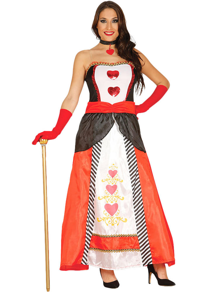 Ladies Princess Of Hearts Costume