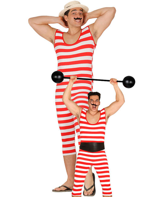 MENS BATHER/STRONGMAN COSTUME / STRONGMAN WEIGHT - 75CM