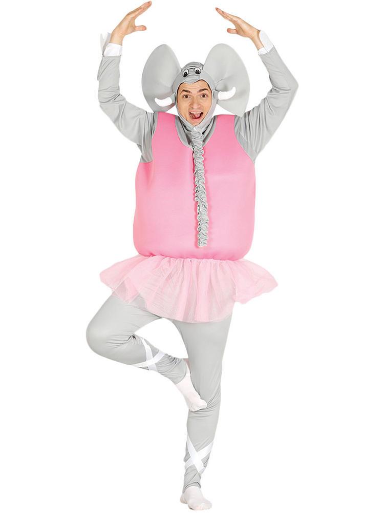 Men's Dancer Elephant Costume