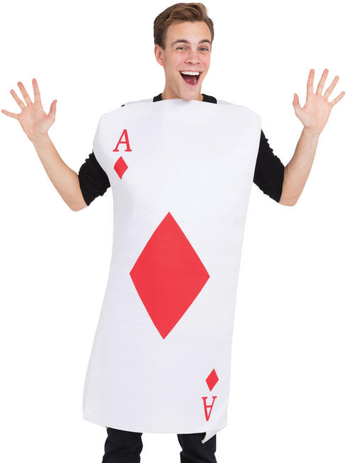 Adult's Ace of Diamonds Costume