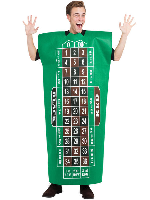 Adult's Roulette Table Costume