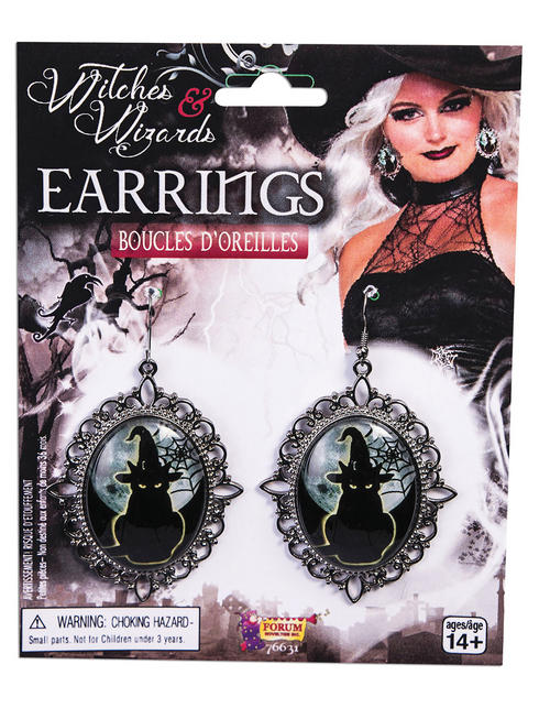 Ladies Witches Earrings