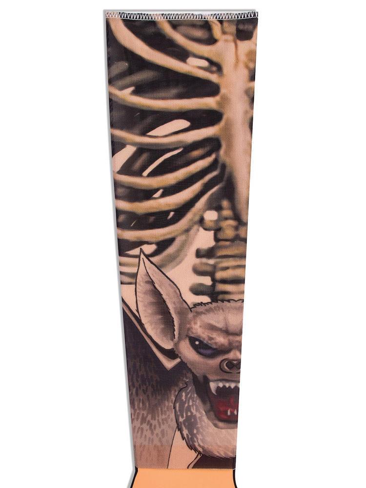 Adult's Bones Tattoo Sleeve