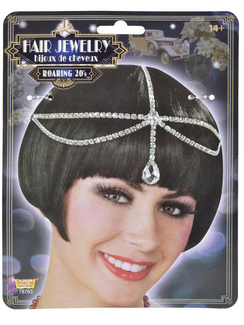 Ladies 1920s Hair Jewellery