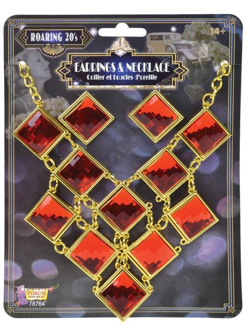Ladies 1920s Jewellery Set