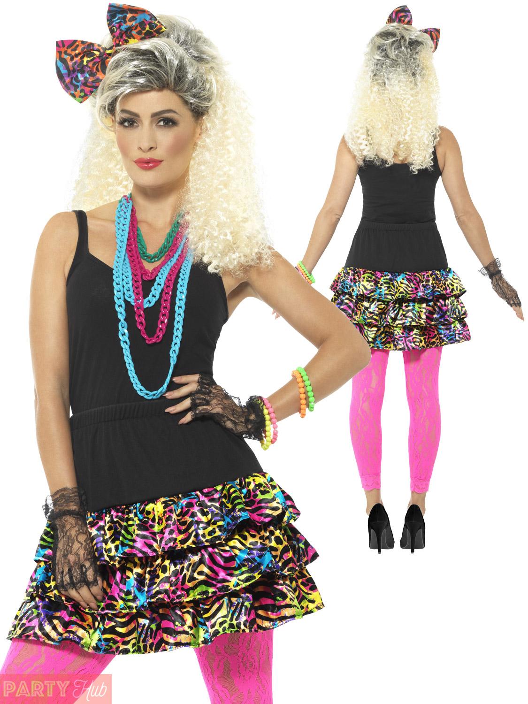Ladies 80s fancy dress costume accessories adult retro 1980s party ladies 80s fancy dress costume accessories adult retro solutioingenieria Image collections