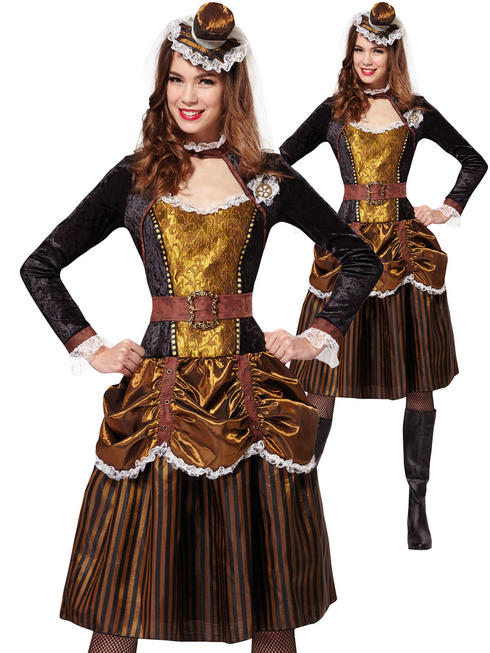 Ladies Steampunk Costume