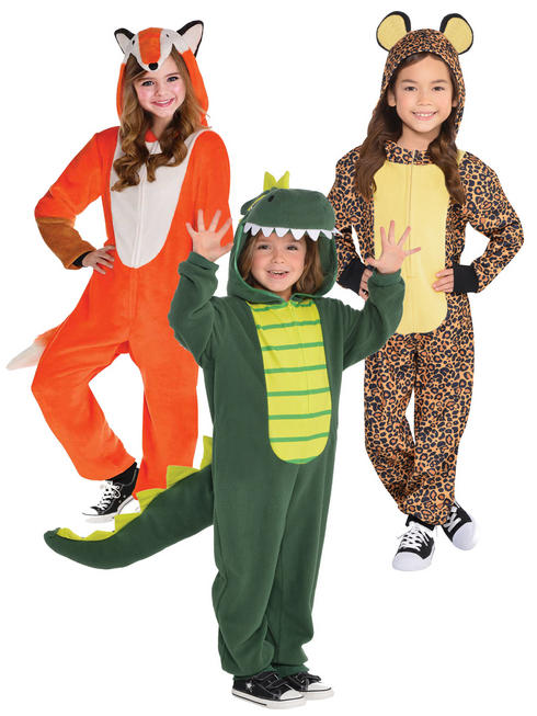 Child's Zipster Animal Costume