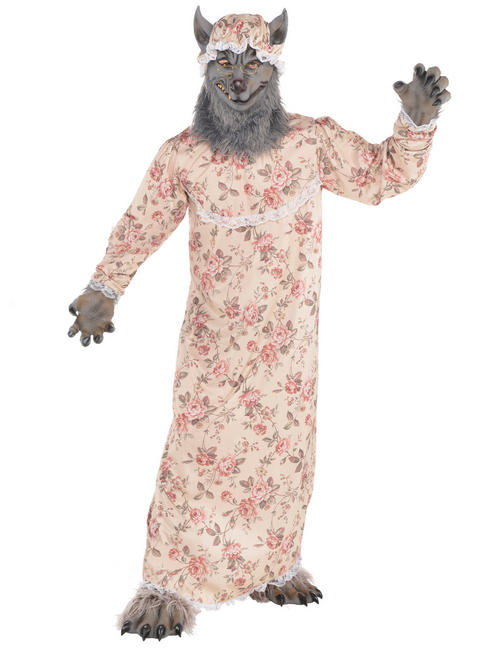 Adult's Grandma Wolf Costume