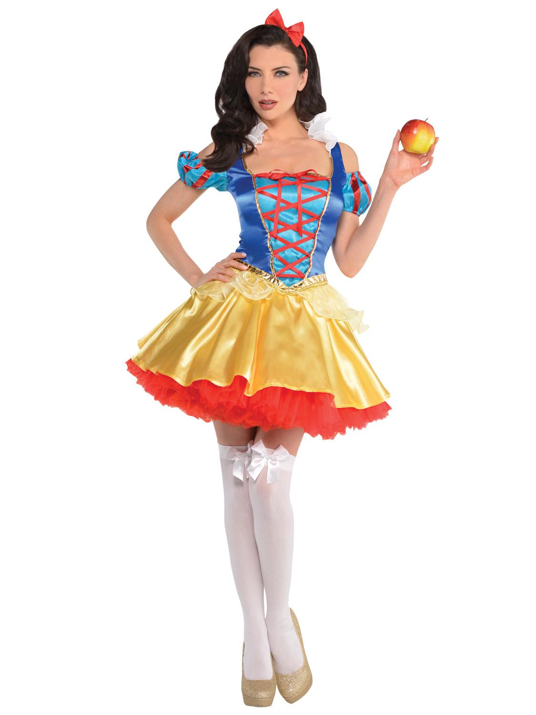 Ladies Snow White Costume Womens Fairytale Princess Fancy ...  Original Snow White Costume
