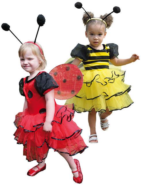 Girl's Travis Design Bumble Bee / Ladybird Costume