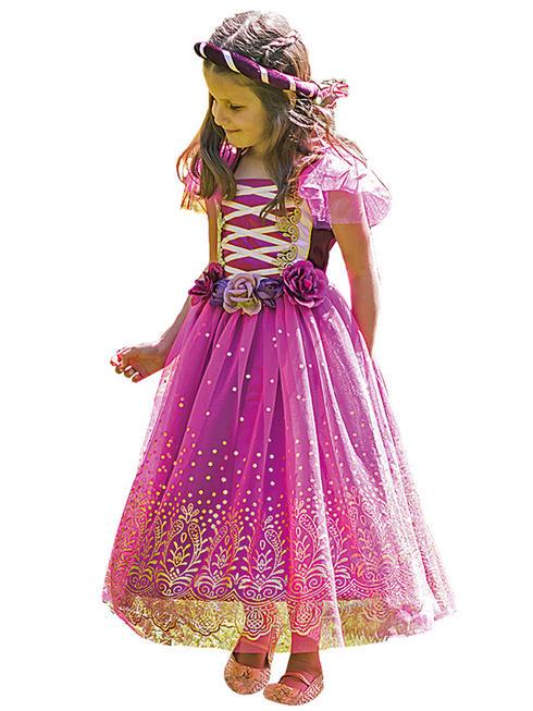 Girl's Travis Design Plum Princess Costume