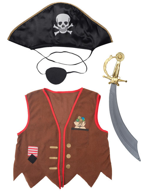 Boy's Travis Designs Pirate Kit